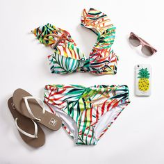 Take it breezy and celebrate swim. Fashion Spring, Bikinis, Swimwear, Swimming, Celebrities, Happy, Women, Swim, Celebs