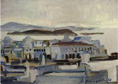 Μαυροϊδής Γεώργιος(1912-2003).1956 .Άποψη του Γιαλού.
