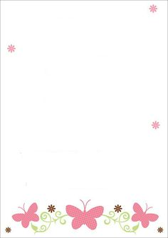 This Pin was discovered by ~❁A Page Borders Design, Border Design, Borders For Paper, Borders And Frames, Goodnotes 4, Baby Shower Invitaciones, Floral Border, Writing Paper, Planner Pages