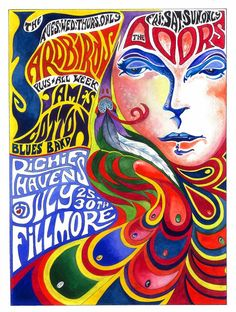 60s concert poster