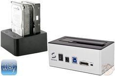 Problème avec le formatage d'un disque dur Seagate HDD 3To qui affiche 800Go exploitables sur un dock Macway. Explication de l'énigme avec Macacoco !