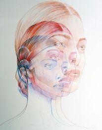Experimental Ballpoint Pen Art by Ler Huang - JOQUZ — Designspiration Ballpoint Pen Art, Gcse Art Sketchbook, Sketchbooks, Art Alevel, Art Drawings, Pencil Drawings, Arte Horror, Ap Art, Art Graphique