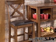 Burnished Pub Height Chairs - Dining Furniture - My Pigsty