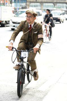 bmx boy style three piece tweed suit
