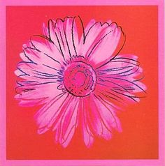 Daisy, C 1982 (Crimson And Pink) by Andy Warhol Art Prints, Posters & Custom Framing from Australia's own PictureStore. Mondrian, Klimt, Art Andy Warhol, Pop Art, Art Rose, Poster Art, Print Poster, Vintage Poster, Edward Hopper