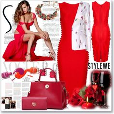 www.stylewe.com-7 by ane-twist on Polyvore featuring Roksanda Ilincic and…