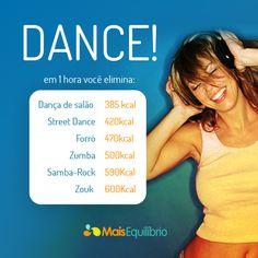 Queime calorias dançando! http://maisequilibrio.com.br/queime-calorias-dancando-3-1-2-627.html