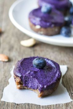 Blueberry Tarts with Almond Crust | Gluten Free with L.B.