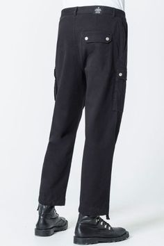 Cheap Monday Image 2 of Loot Trousers in Black