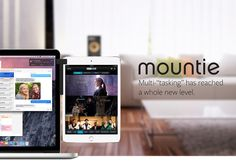 Mountie side-mount clip lets you attach your iPad to your laptop , so you can watch tv while you work.
