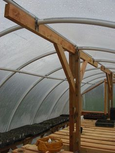 DIY Hoop Greenhouse - Braces