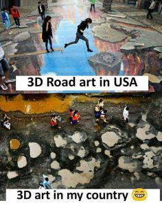 Nhi hain road in my country.