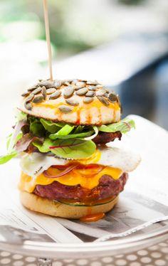 Classic Italian B.B. Burger recipe