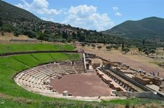 Ancient Theater in Messini, Greece