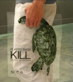 #plasticbagskill and this clever #shoppingbag illustrates that beautifully