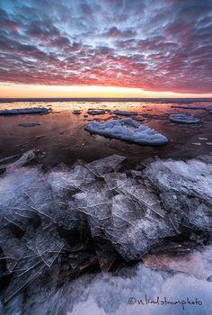 Lake Superior Duluth Minnesota Photo Print  by NLindstromPhoto