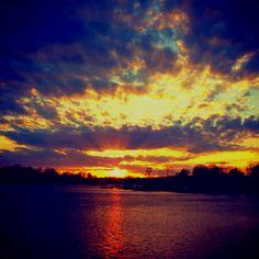 Lake Norman. NC beautiful sunset
