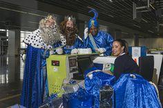 ¡Todo listo! Sus Majestades los Reyes Magos ya tienen sus tarjetas de embarque con destino a la noche más mágica del año ✈ #AcuerdoporlaNavidad #Despegatuilusión