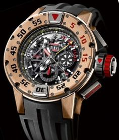 Richard Mille RM 032 Automatic Chronograph Dive Watch Watch Releases