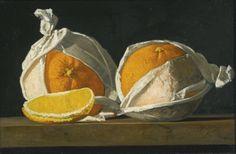 Oranges Wrapped byJohn Frederick Peto(American, 1854–1907)
