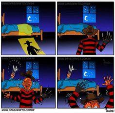 Wolverine Freddy Krueger Horror Humor