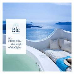 Ble summer is many things but first and foremost… ble-shop.com  #Blesummer Santorini Villas, Photo Galleries, Gallery, Outdoor Decor, Summer, Quotes, Home Decor, Houses, Quotations