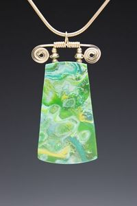 Some very interesting bails.  Designs by Kristine - Pendants