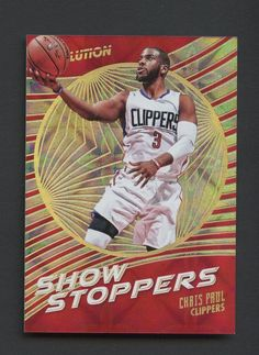 2016-17 Panini Revolution Galactic Showstoppers Chris Paul Los Angeles  Clippers Chris Paul Clippers 3ef1ab555