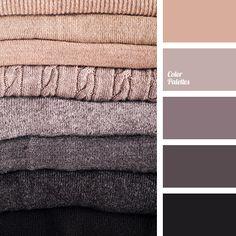 beige, beige and black, beige and brown, beige-gray, black and beige, black and brown, brown and beige, color of wool, gray and beige, gray and shades of brown, gray-brown color, shades of brown, taupe.