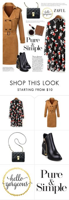 """""""Zaful 3"""" by mihreta-m ❤ liked on Polyvore featuring Anne Klein, Pure & Simple, Mulberry, women's clothing, women's fashion, women, female, woman, misses and juniors"""