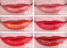 110 and 505 look amazing on my pale skin and last at least 8 hours plus without fading. Face Makeup Tips, Makeup Blog, Eye Makeup, Loreal Infallible Lipstick, Lipstick Swatches, Long Wear Lipstick, Lip Lacquer, Lip Colour, Makeup For Beginners