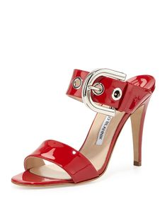 93eb35693ff Buy Manolo Blahnik Bila Double-Band Patent Sandal Red Online from Reliable  Manolo Blahnik Bila Double-Band Patent Sandal Red Online suppliers.