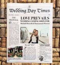 This item is unavailable Vintage Newspaper Wedding Invitation Wedding Newspaper, Vintage Newspaper, Wedding Book, Wedding Tips, Rustic Wedding, Newspaper Layout, Wedding Quotes, Wedding Vintage, Casual Wedding