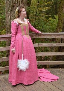 jennylafleur | diary | Pink Venetian: an Italian Renaissance costume