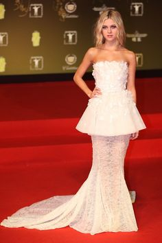 Nicola Peltz in Giambattista Valli Couture, Shanghai International Film Festival