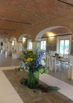 Allestimento di Riso e Risa, presso Corte Dei Paduli - Wedding Location - Reggio E., Italy. www.deipaduli.org