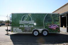 Osmans Landscaping Trailer Wrap