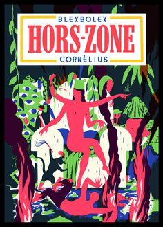 """Crimechien"" et ""Hors-Zone"", de Blexbolex (Cornélius)"