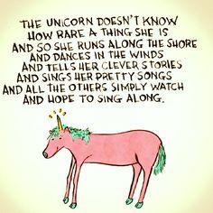 Unicorns are rare