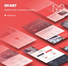 Smart - Modern Email Template + Builder 2.0 • Download theme ➝…
