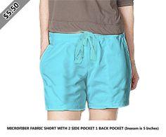 Microfiber fabric short with 2 side pocket 1 back pocket (inseam is 5 inches) Scrubs, Bermuda Shorts, Capri, Lady, Pocket, Women, Fashion, Moda, Fashion Styles