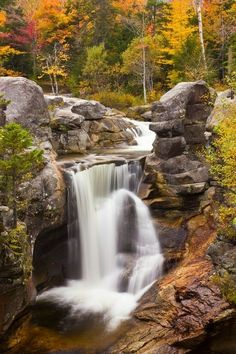 ✯ Screw Auger Falls - Grafton Notch State Park, Maine -- in the USA All Nature, Amazing Nature, Beautiful Waterfalls, Beautiful Landscapes, Beautiful Places, Beautiful Pictures, Landscape Photos, Nature Pictures, Land Scape