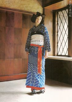 Kimono-hime issue 2. Fashion shoot page 5.  By Satomi Grim of Flickr