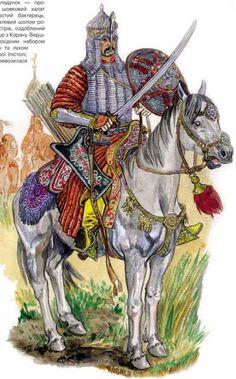 Конный воин Крымского ханства. 1659 год