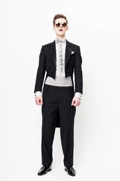 shirt and tails and glasses oh my  (Herr von Eden Fall/Winter 2012)