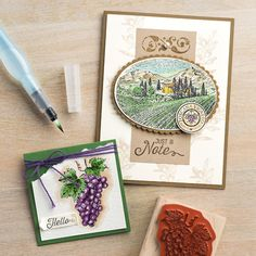 141902-----Tuscan Vineyard Clear-Mount Stamp Set by Stampin' Up!
