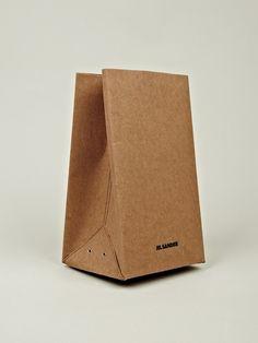 """Jil Sander """"paper bag"""" bag"""