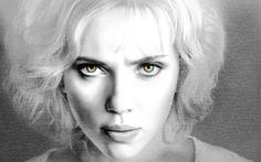 Scarlett Johansson In Lucy 2014 Movie Poster Wallpaper Wide or HD   Movies Wallpapers