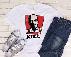Vladimir Lenin Colonel Sanders Mashup Unisex Tee / Vladimir | Etsy