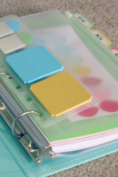 """To do list method. Pretty to-do list binder with daily to-do list, master to-do list, cleaning to do list, """"Creating a to do list- Clean and Scentsible"""" Binder Organization, School Organization, Binder Storage, Do It Yourself Inspiration, Home Management, Organize Your Life, Cleaning Hacks, Cleaning Lists, Cleaning Schedules"""